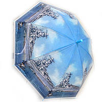 Зонт трость для мальчика силиконовый Крейсер