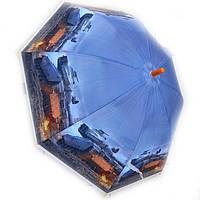 Зонт трость для мальчика силиконовый Танки