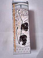 Лупа-очки бинокулярная NO.9892A-II c Led подсветкой, 20Х