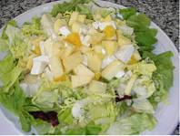Сладкий куриный салат