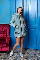 Зимняя оливковая куртка-парка М-705 Arizzo 46-56 размер
