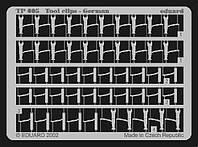Фототравление 1/35 крепления инструмента немецкие