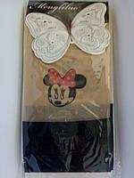 Капроновые колготки с имитацией чулок, подросток р. 140-160, фото 1