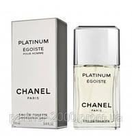 """Chanel """"Egoiste Platinum"""" 100ml (Мужская туалетная вода)"""