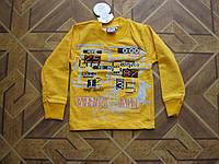 Детский батник-футболка с длинным рукавом  для    мальчика  92 см Турция