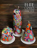 Красивые свечи от ELITE CANDLES купить с доставкой в Киев и по всей Украине