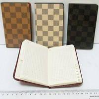"""Телефонная книга 12409  алфавит """"Louis Vuitton"""" клетка 8,5х14,5см"""