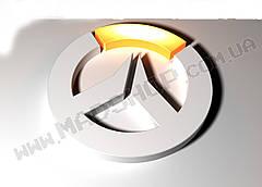 Картина 60х40см Овервотч Overwatch логотипчик