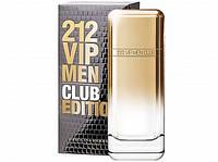 Carolina Herrera 212 VIP Men Club Edition edt 100ml (Мужская туалетная вода)