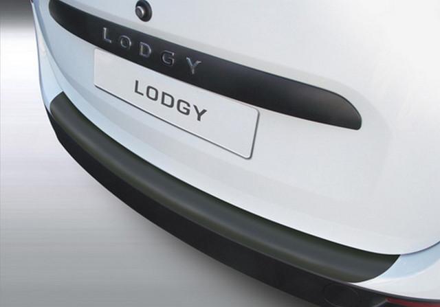 RBP592 Rear bumper protector Renault Lodgy 2012-2015