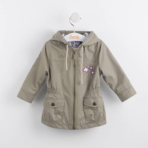Куртка демисезонная для девочки КТ152 Бемби