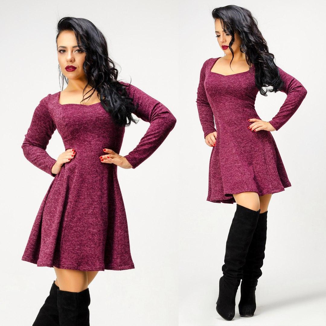 f64d08287045a Молодежное платье из ангоры (4 цвета): продажа, цена в Николаеве ...