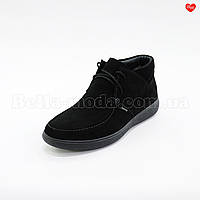 Мужские замшевые ботинки на манке