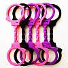 Силиконовые цветные наручники