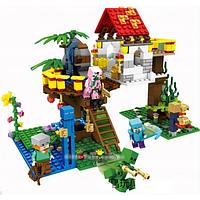 """Конструктор Minecraft SY 853 """"Домик на дереве 3 в 1"""" 447 детали."""