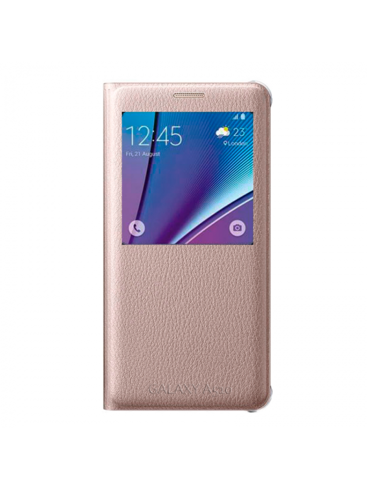Чехол-книжка Samsung S View Cover для Samsung Galaxy A510 Золотой