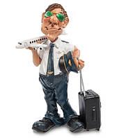 "Фигурка ""Пилот"" 10,5x7x17 см., полистоун Warren Stratford Канада"