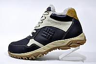 Кожаные ботинки Columbia, зимние с мехом