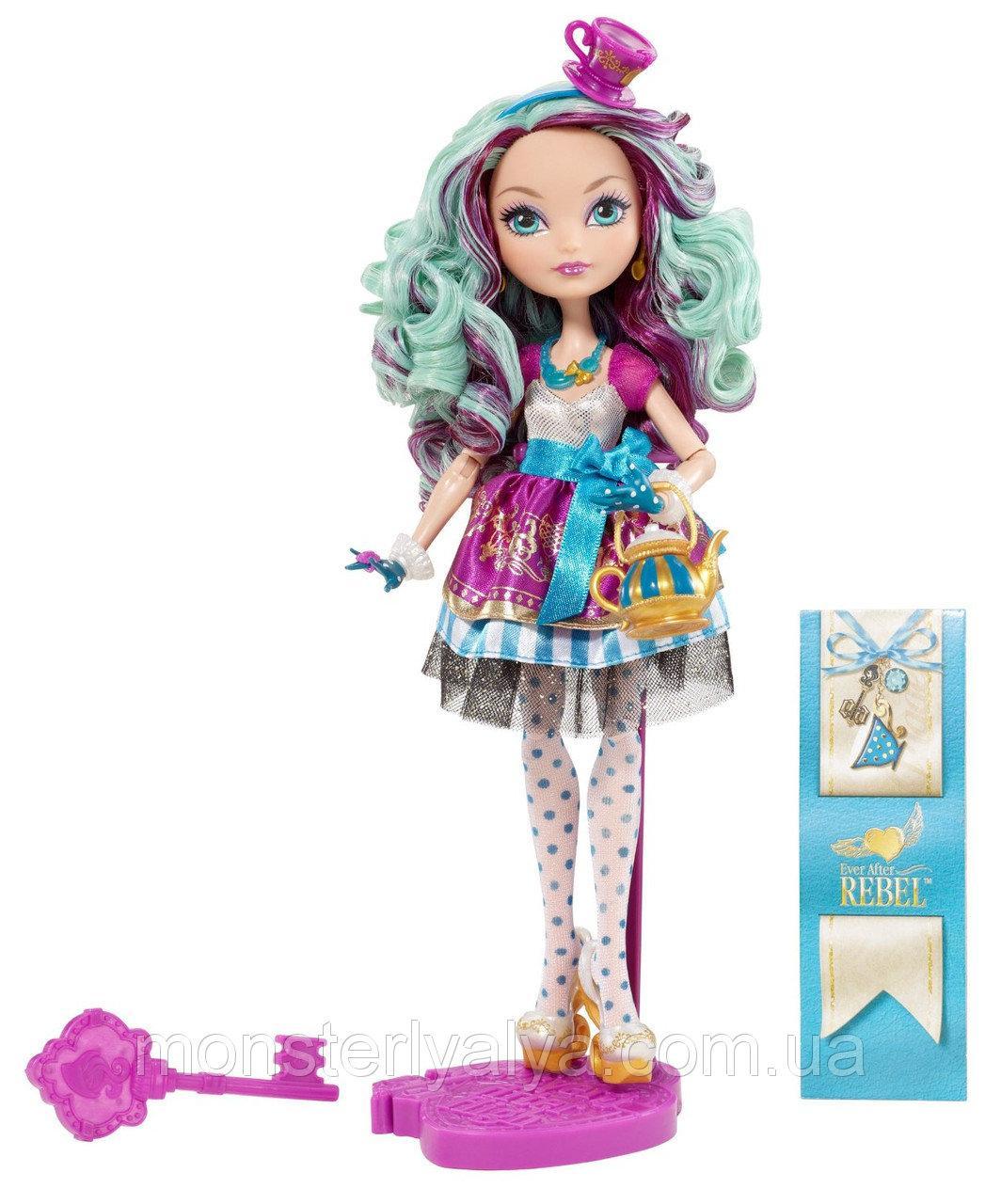 Кукла Эвер афтер хай Мэделин Хэттер базовая первый выпуск  Ever After High Madeline Hatter Doll