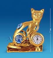 """Фигурка с часами """"Кошка на подушке"""" (Юнион) AR-3746/ 5"""