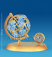 """Фигурка с часами """"Глобус"""" бол. (Юнион) AR-4357/ 5"""