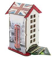 """Домик для чайных пакетиков """"Лондон"""""""