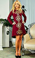 Милое платье свободного силуэта с иумительной перфорацие