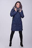 Утепленное болоньевое пальто с капюшоном