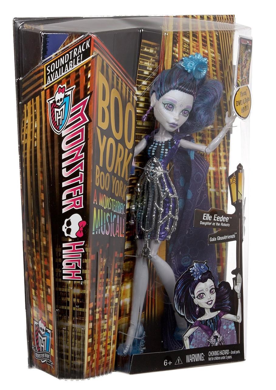 """Кукла Elle Eedee Элль Иди """"Boo York,Boo York"""" Monster High™ (CHW63-CHW64)"""