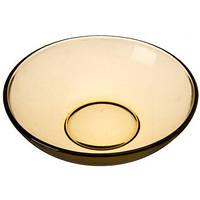"""Тарелка глубокая стекло """"Basilico"""" 19 см дымчатая 90062070 / Галерея /"""