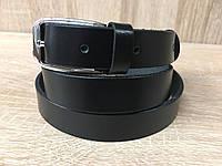 Женский кожаный ремень Cinturify, длина 105-125 см. Черный