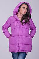 Стильная болоньевая женская куртка