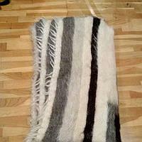 Одіяло-плед шерстяний тканий