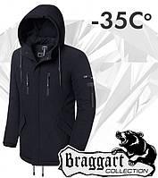 Braggart 'Black Diamond'. Парка зимняя 4554 черная