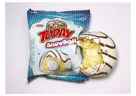 Today Молочный Кекс Snowball, упаковка 100гр