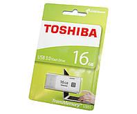 Флешка USB 3.0 16Gb Toshiba Hayabusa White / THN-U301W0160E4