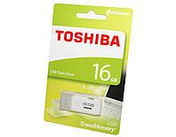 Флешка 16Gb Toshiba U202 White / 17/7Mbps / THN-U202W0160E4