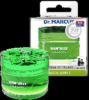 Автоосвежитель Dr. Marcus Senso Deluxe - Green Apple, Ароматизатор автомобильный (Пахучка в салон авто)
