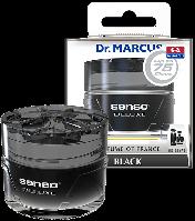 Автоосвежитель Dr. Marcus Senso Deluxe - Black, Ароматизатор автомобильный (Пахучка в салон авто)