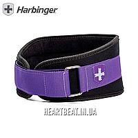 """Пояс тренировочный женский Harbinger Women's 5"""" Foam Core Belt XS (61-71 см) - Фиолетовый"""