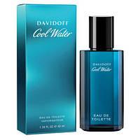 DAVIDOFF COOL WATER MAN edt 40 ml  туалетная вода мужская (оригинал подлинник  Франция)