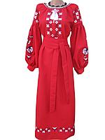"""Жіноче вишите плаття """"Нетлі"""" (Женское вышитое платье """"Нетли"""") PD-0002"""