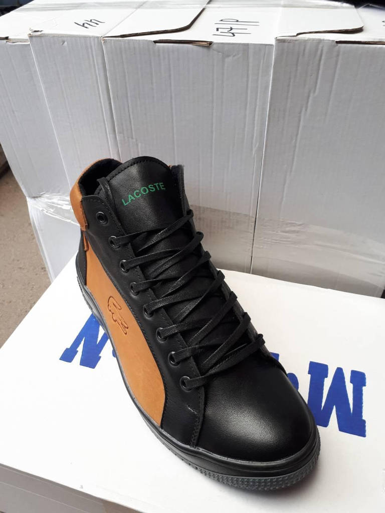 Мужские зимние ботинки Lacoste реплика (реплика)  продажа, цена в ... 4328d7b8259