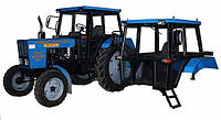 """МТЗ706700010 Кабина МТЗ """"мк"""" 70-6700010 под щиток старого обр. прямой с сиденьем (синяя)"""