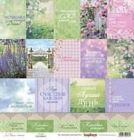 "Скрап бумаг ""Цветущий сад (in bloom)"" Scrapberry  30х30см"