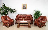 Новый Кожаный диван и два кресла San Remo 3+1+1. Шкіряний диван і два крісла