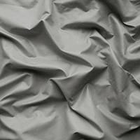 Плащевая ткань (плащевка) лаке  - цвет светло-серый