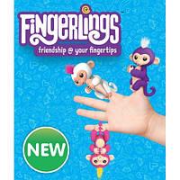 Интерактивная игрушка ручная обезьянка Fingerlings, WowWee