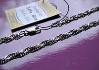 Серебренная ЦЕПЬ плетение СИНГАПУР - 7.41 грамма 60 см. СЕРЕБРО 925 пробы