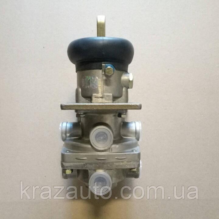 Кран тормозной 2-секц. МАЗ КрАЗ КАМАЗ главн. тормоз. (пр-во ПААЗ) 100.3514008
